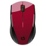 HP X3000 Wireless Mouse [K5D26AA] - Red - Mouse Basic